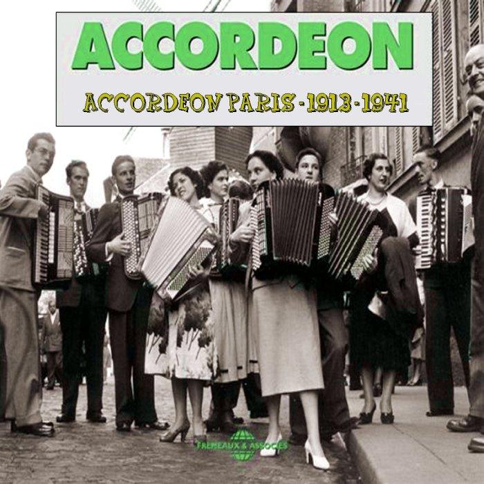FRONT - Accordeon Paris - 1913 - 1941