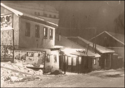 Skadarlija kafana Tri sesira 1930