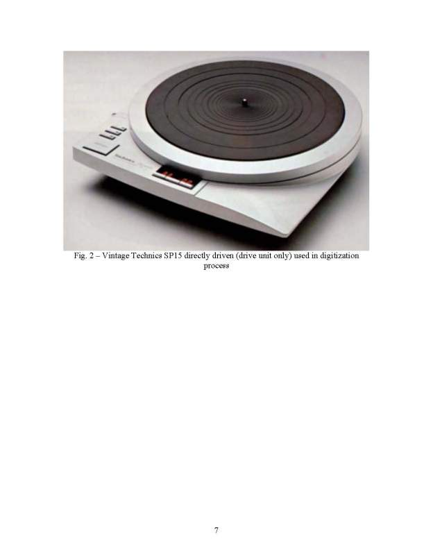 SOME HINTS AND PECULARITIES OF THE PHONOGRAPH RECORDS DIGITALIZATION OF TECHNICALY OBSOLETE FORMATS OF ANALOG SOUND RECORDINGS SEEDI 2008_Page_07