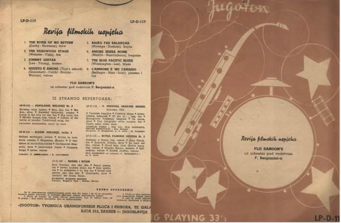 FLO SANDONS orchestra Revija filmskih uspjeha