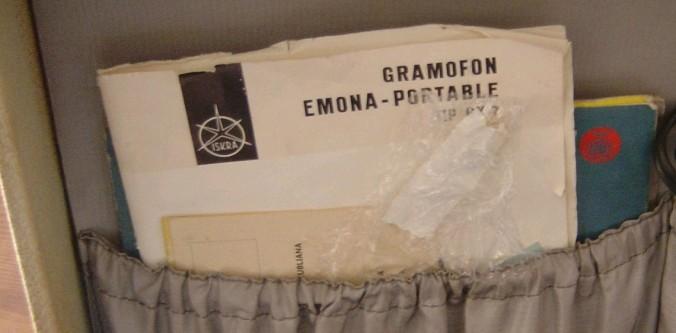 gramofon ISKRA Emona 2