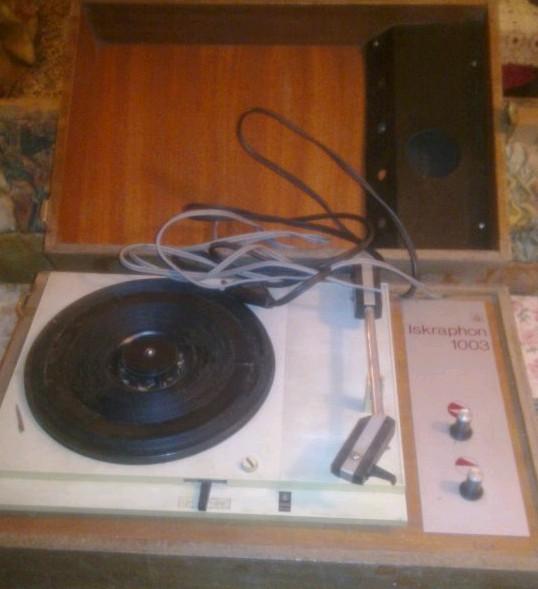 gramofon ISKRA Iskraphon 1003 a