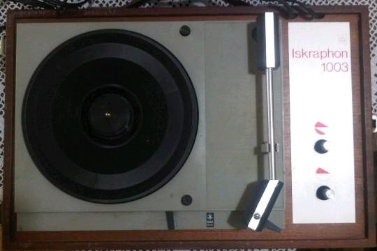gramofon ISKRA Iskraphon 1003 b