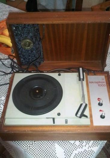 gramofon ISKRA Iskraphon 1003 c