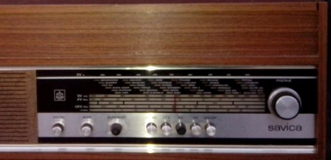 gramofon radio ISKRA Savica 4