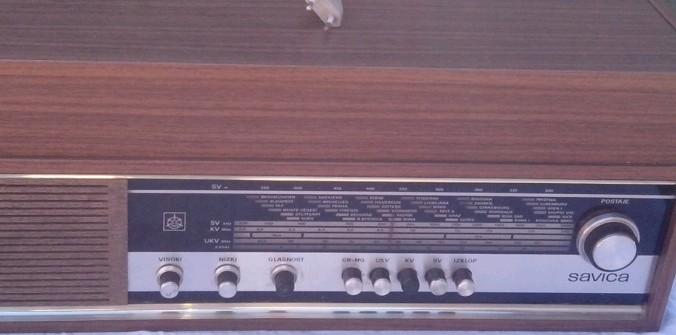 gramofon radio ISKRA Savica 5