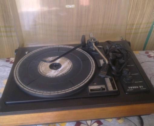 gramofon Tosca 21 RIZ Elak 1