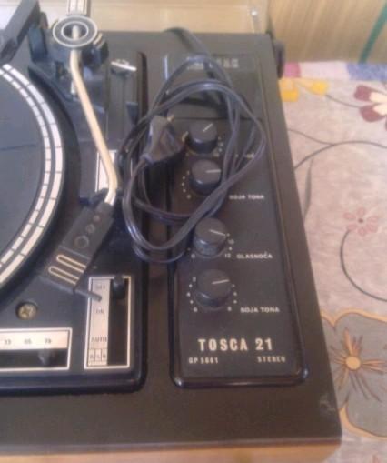 gramofon Tosca 21 RIZ Elak 2