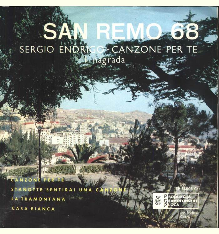 SANREMO Festival 1968 a