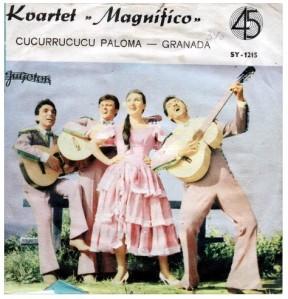 Kvartet MAGNIFICO 1963 Cucurucucu Paloma A
